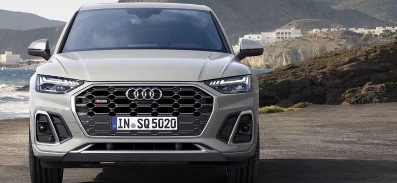 Sportdízel: Magyarországon a 341 lóerős új Audi SQ5 TDI