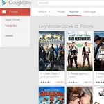 A Google online filmkölcsönzőt nyitott Magyarországon