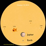 Fotó: 25 éve nem észleltek ilyesmit a Napot tanulmányozók