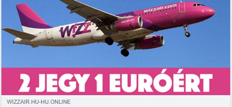 A Wizz Air nevével indult nagyon durva csalás