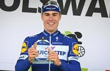 Borzalmas bukás után mesterséges kómában van a kerékpáros holland bajnok