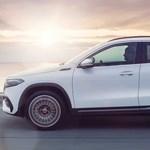 Magyarországon a legújabb elektromos Mercedes, a kicsi EQA