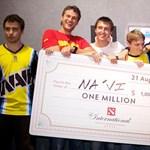 Egymillió dollárt nyertek a DOTA2 bajnokság nyertesei