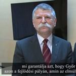 Ismét külön törvényt hozott a fideszes többség a győri polgármester kedvéért