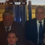 Ki az a rejtélyes üzletember Orbán Viktor mellett a VIP-páholyban?