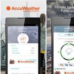 Univerzális lett: bármilyen eszközén futhat a népszerű időjárás alkalmazás