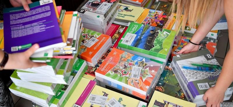 3,5 millió tankönyv tűnhet el az iskolákból