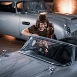 Méregdrága 14 lóerős gyerekautó az Aston Martintól