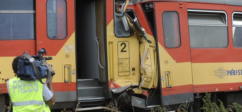 Gyanúsított lett az ütköző vonat vezetője