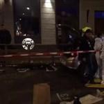Gyalogosokat próbált meg elgázolni egy autós Franciaországban – videó