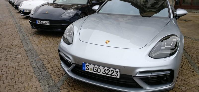 Levegőt is alig tudtunk venni - teszteltük az új Porsche Panamerát
