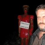 Kihallgatta a rendőrség a Horthy-szobor megrongálóját