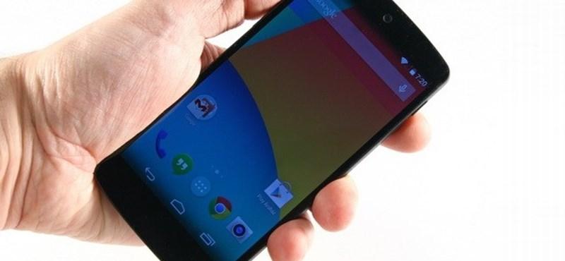 100% vegytiszta Android – teszten a Google Nexus 5