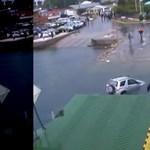 Videó: Felfoghatatlan, mit csinál ez az autós, aki a vízbe ugrat a kompról