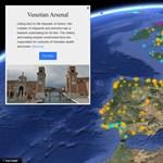 Két látványos új funkció is jött a Google Earth-be