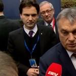 Orbán küldött még egy Soros-poént a kitessékelt újságíró után Brüsszelben