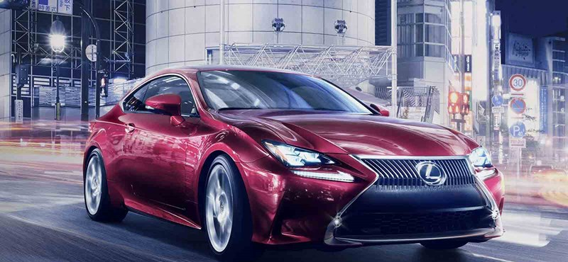 Látványos lett a Lexus sportkupéja