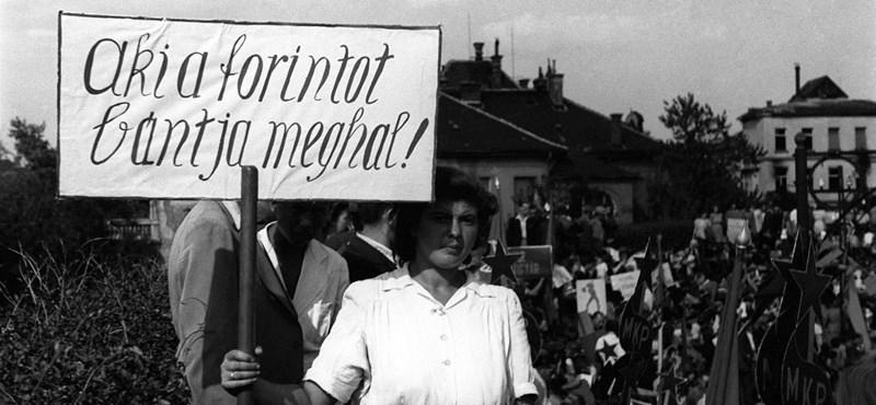 Hetvenéves a forint - de mi drágult a leginkább 1946 óta?