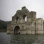 Újra előbukkant a vízből egy különleges templom Mexikóban – fotó