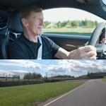 Hatperces tömény vezetéstechnikai tréning, ahogy a 72 éves Walter Röhrl autózik egyet