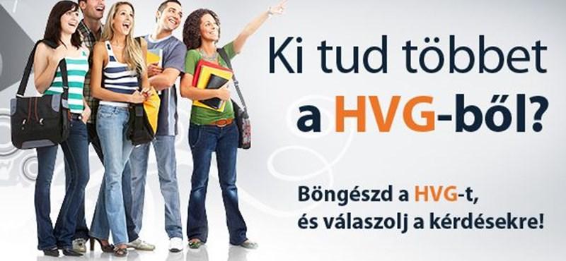 Új középiskolai vetélkedő: ki tud többet a HVG-ből?