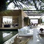 Falak nélküli brazil luxusvilla - lélegzetállító terek az erdő szélén