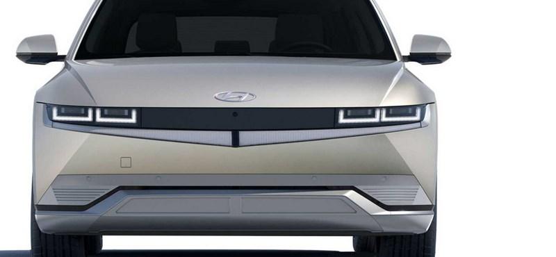 Szemrevalóan szögletes külsővel érkezett meg a Hyundai ígéretes új villanyautója