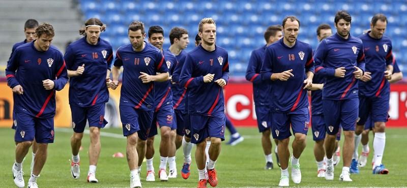 A horvátok nagy napja: csak a piros biztos