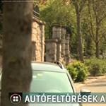 Feltörtek két autót egy budapesti bölcsőde előtt