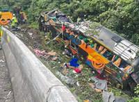 Súlyos buszbaleset történt Brazíliában, 21-en meghaltak