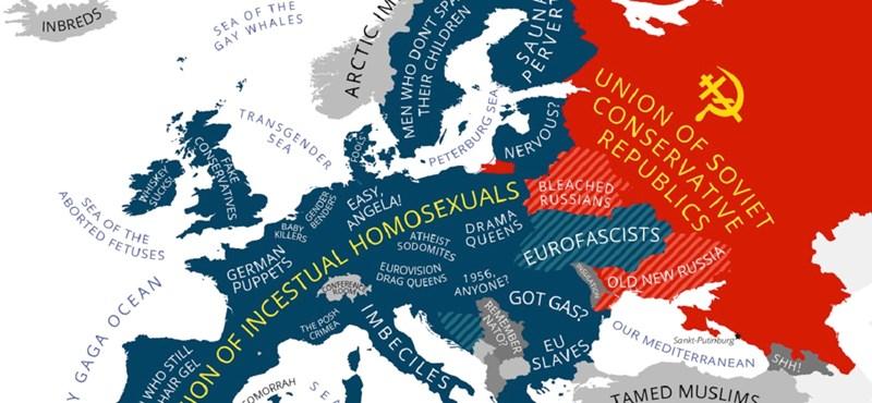 Putyin térképén Franciaország a németek ölebe
