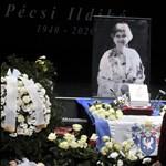 Így búcsúztatták el Pécsi Ildikót