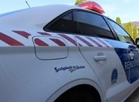 Négy autó ütközött össze a Kerepesi úton