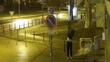 Elvesztette a tolvaj a polgármesteri hivatalról ellopott magyar zászlót, visszament az EU-sért - videó