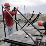 Állami megrendelések pörgették az építőipart