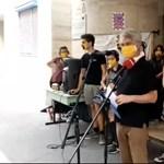 A Színművészeti hallgatói nem tárgyalnak Vidnyászkyékkal