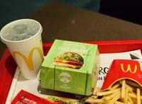 Az új-zélandi McDonald's vega burgere nem is annyira vega
