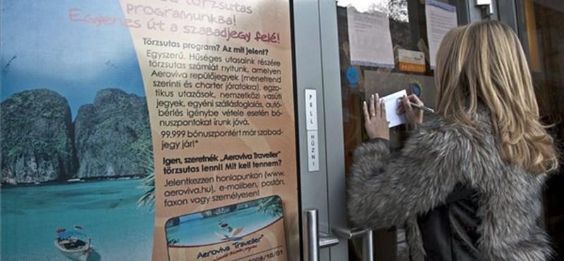 Eljárás indult az Aeroviva csődje miatt