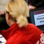 Dübörög a német repülőtéri sztrájk, magyarokat is érint