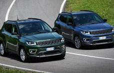 Európai lett a megújult Jeep Compass