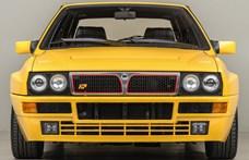Ferrari-sárga színben várja új gazdáját ez a makulátlan Lancia Delta HF Integrale