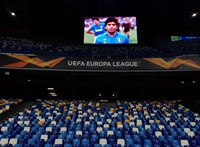 Európa-liga: A Napoli győzelemmel emlékezett Maradonára, továbbjutott az Arsenal és a Roma