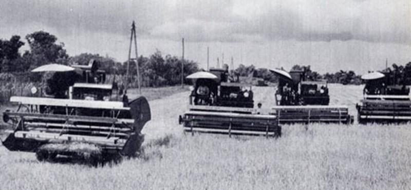 Mementó 1950: elkészül az első magyar kombájn