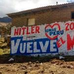 Lenin és a Jó Hitler harcol egymással Peruban