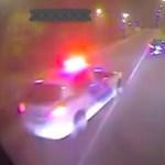 Instant karma: busszal szórakozott a magyar autós, aztán jött a rendőr – videó