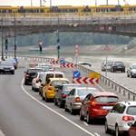 Megnyitják a rakparti lehajtót a Margit híd pesti hídfőjénél