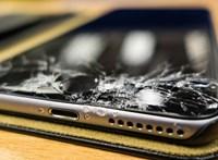 Hiába törik össze a mobil kijelzője, sokan tovább használják