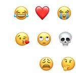 Ön is sokszor használja? Ezek az amerikaiak kedvenc emojijai