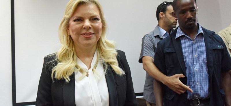 Csalás ügyében elítélték az izraeli miniszterelnök feleségét