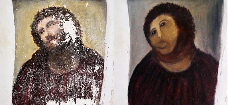 Turistaszenzáció lett az elrontott moncsicsi-Jézus